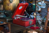 Grammofono — Foto Stock