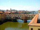 The Ponte Vecchio  - Florence, Italy — Stock Photo