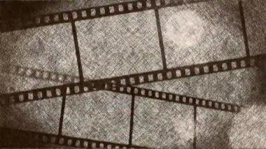 Rolls of film scroll — Stock Video