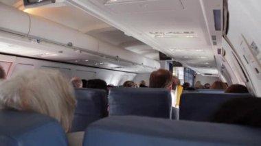 Airplane Travel — Stock Video