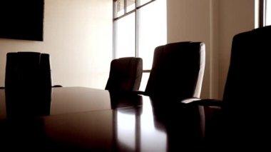 会议室与椅子 — 图库视频影像