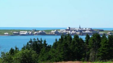 French Fort Louisbourg — Stockvideo