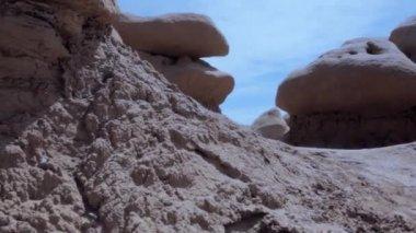 Goblin valley state park — Stock Video