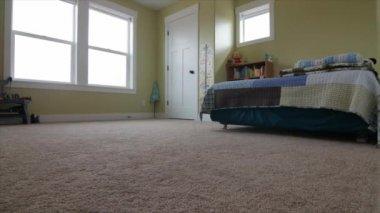 Inside a boys bedroom — Stock Video