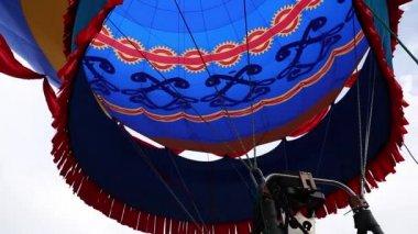 Hot Air Balloon — Stock Video