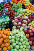 Apples Vegetables and Fruit — Stock Photo