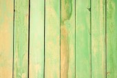 Green Painted Woo — Stock Photo