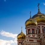 Classical Golden Church Spires — Stock Photo #70959737