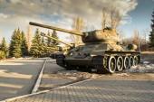 Russian T34 Tank — Stock Photo