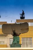 Old Disused radar — Stock Photo