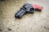 Abandoned Plastic Gun — Stock Photo