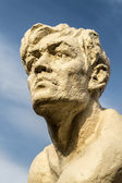 Stone Human Statue Head — Stock Photo