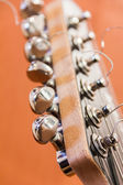 Details of guitar — Stockfoto