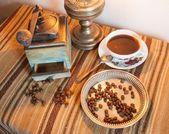 Coffee still life — Stock Photo