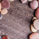 Small stones frame — Stock Photo #67731361