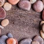 Small stones frame — Stock Photo #67731423