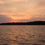 Lake after sunset — Stock Photo #68685619