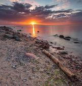 日の出岩海海岸。美しい海の景色 — ストック写真