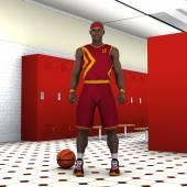 Basketball player — Stockfoto