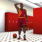 Giocatore di basket — Foto Stock