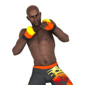 Martial artist — Zdjęcie stockowe