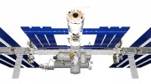 Man-made satellite — Foto Stock