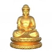 Socha buddhy — Stock fotografie