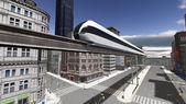 Monorail — Stockfoto