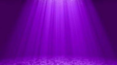 Sunlight in the sea — Stock Video