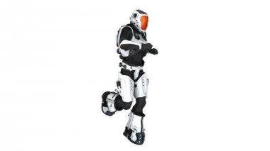 Kör robot — Stockvideo