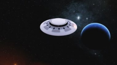 Unidentified Flying Object — Stock Video