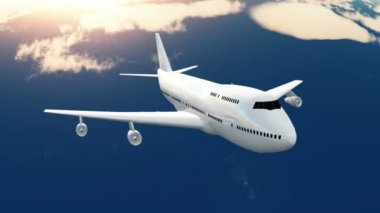 Airplane — Stockvideo