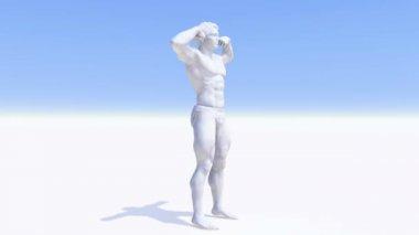 Menselijk lichaam — Stockvideo