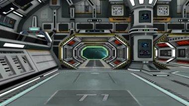 Vesmírná stanice — Stock video