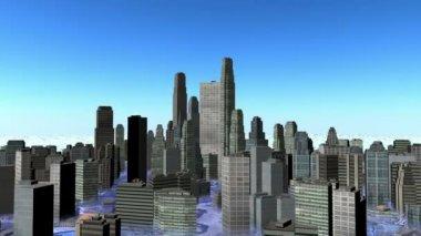 Cityscape — Stock Video
