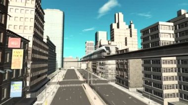 Monorail — Stock Video