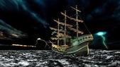 Sailingboat — Stockfoto