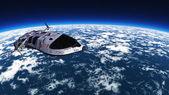Nave espacial — Fotografia Stock