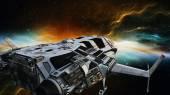 Statek kosmiczny — Zdjęcie stockowe