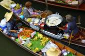 タイの水上マーケット — ストック写真