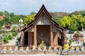 Templo de Wat Yai Chai Mongkol en Ayuddhaya — Foto de Stock