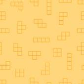 Tetris elements background — Stock Vector