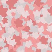 Muster mit Farbe Laub — Stockvektor
