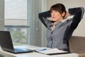 The office routine — Stock Photo