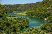 Krka river — Stock Photo