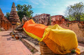 Reclining Buddha Image — Stock Photo