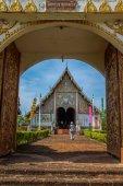 教会への入り口 — ストック写真