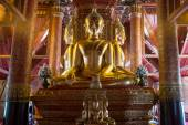 Buddha images of Wat Phumin — Stock Photo