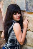 Modello femminile giovane — Foto Stock