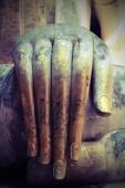 Buddhist'hand statue — Stock fotografie